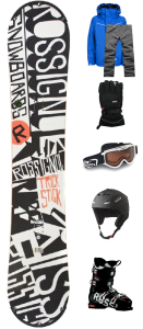 snowboard bundle rental
