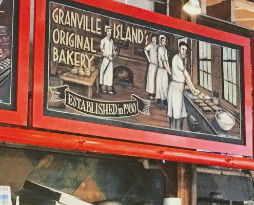Granville Island Market Bike Tour bakery