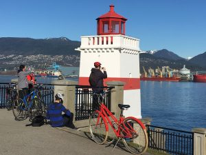 Stanley Park Bike Tour Lighthouse