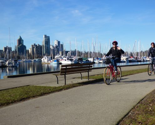 Stanley Park Bike Tour yes cycle Fun