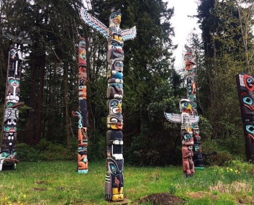 totem poles yes cycle