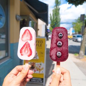 Popsicles near Yes Cycle Bike rental Denman street