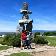 inukshuk english bay yes cycle tour
