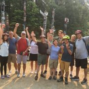 Team building Vancouver yes cycle