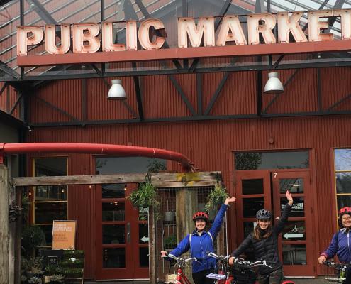 public market vancouver bike tour