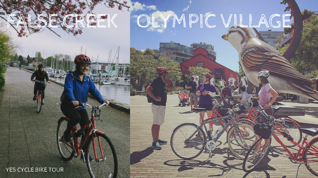 olympic village yes cycle bike tour
