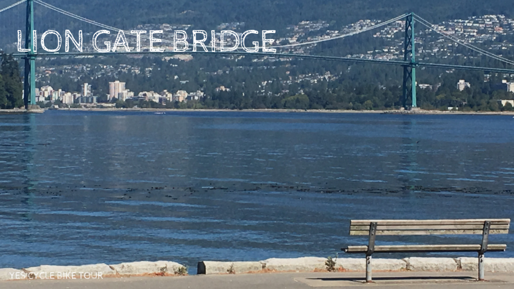 yes cycle lion gate bridge