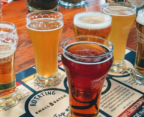 beer tasting vancouver bike tour